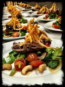 Thai Beef Salad Blk Border