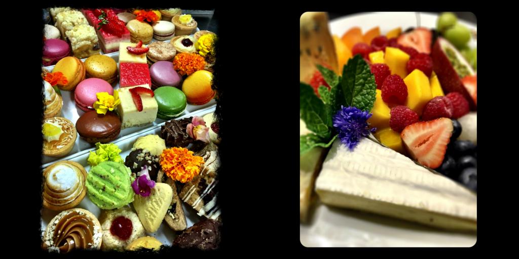 BBQ dessert Collage
